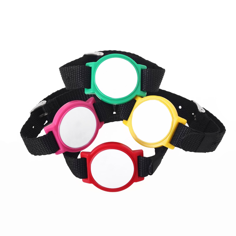 NL02 RFID NFC Nylon Wristband Adjustable Watch Buckle Bracelets