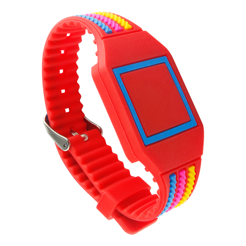 GJ100 RFID Customizable Silicone Wristband Waterproof NFC Bracelets