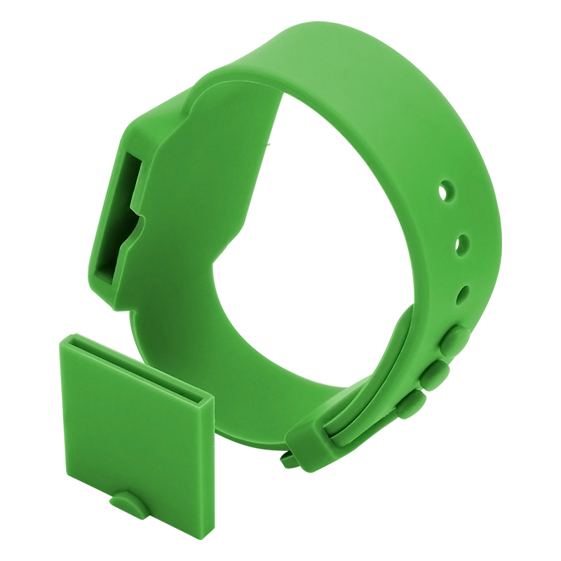 GJ14 RFID Waterproof Silicone Wristband NFC Anti-lost Buckle Bracelets