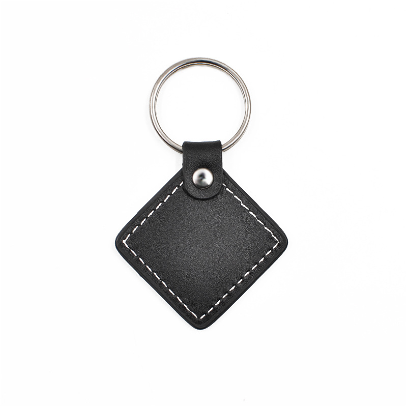 PG09 RFID Key Fob  leather Key Tag Key Holder For access control