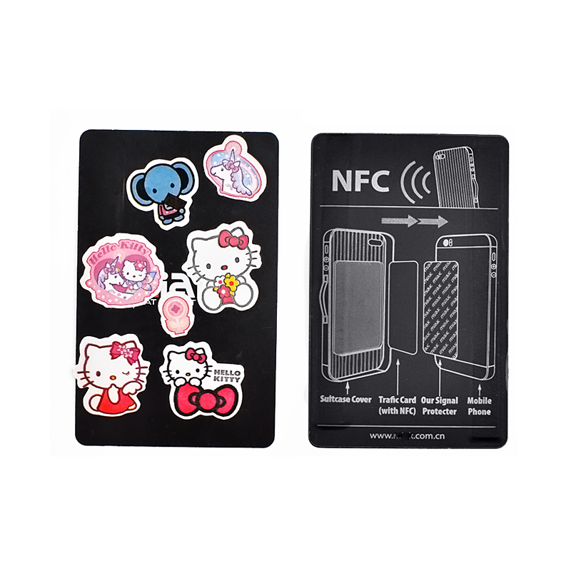 RFID Customized Paper Smart Card NFC Electronic Card anti-counterfeit souvenir Sensor Card